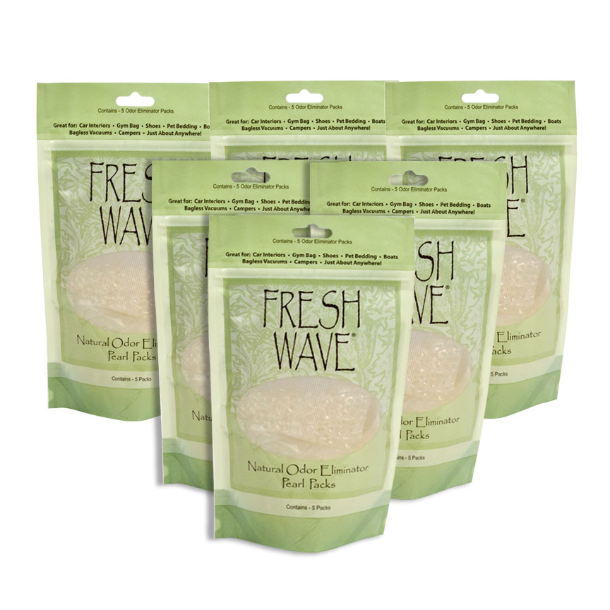 Superior Vacuum & Sew -Fresh Wave Natural Odor Eliminator Pearl Packs for Bagless Vacuums