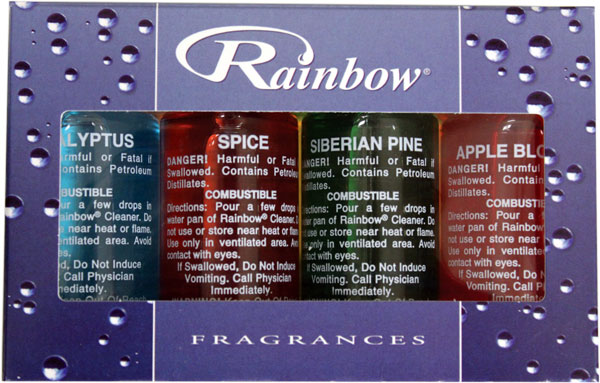 Superior Vacuum & Sew - Fragrances for Rainbow Vacuum Cleaner (Oil Based)